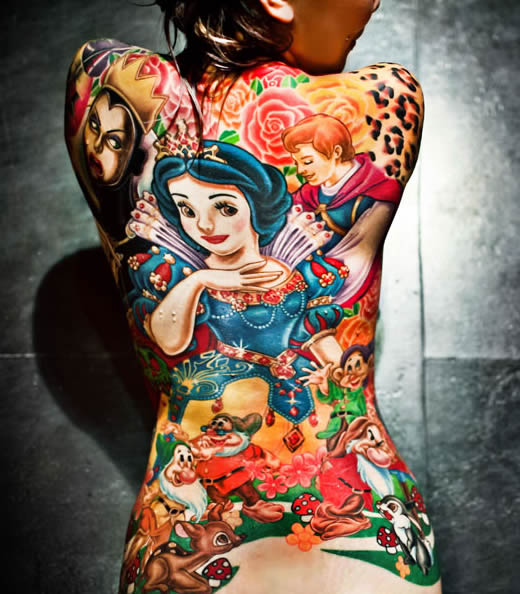 Disney tattoo living in a grown up world for Disney world tattoos