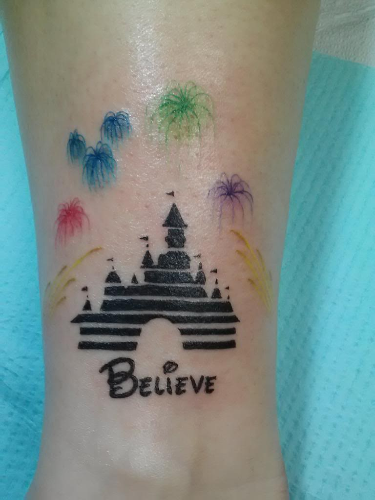 t g i f pic of the week disney tattoos part two living in a grown up world. Black Bedroom Furniture Sets. Home Design Ideas