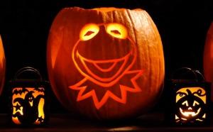 TGIF Kermit Pumpkin