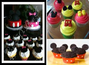 Mickey Party Cake