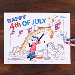 Coloring 4th