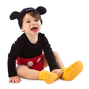 Your baby will be the mouse with the most in a Disney Mickey Mouse Costume for babies! Mickey Mouse Costume is an officially licensed Disney costume.