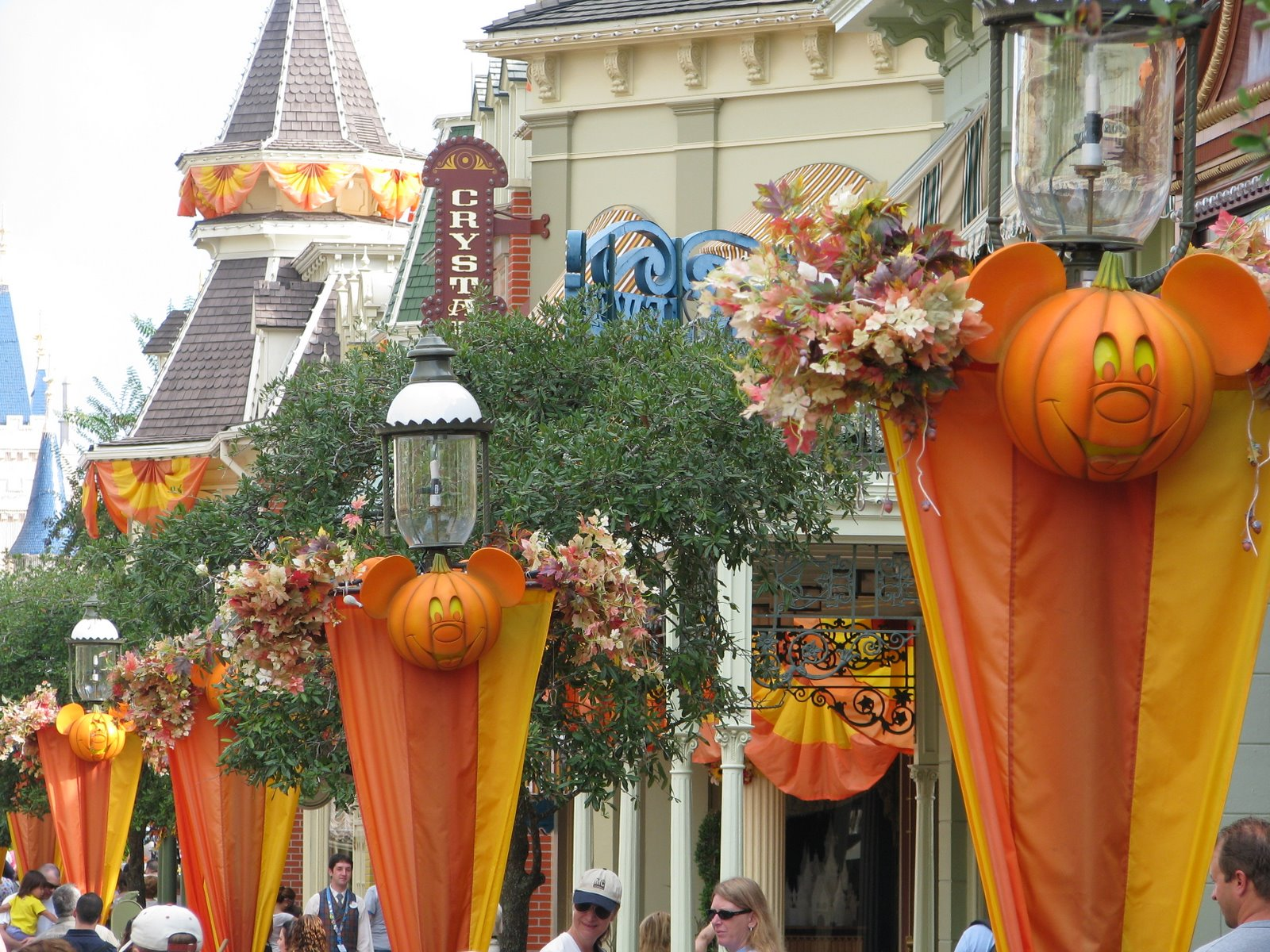 and of course with fall comes halloween which disney is already fully prepared for since they are already in the midst of their mickeys not so scary