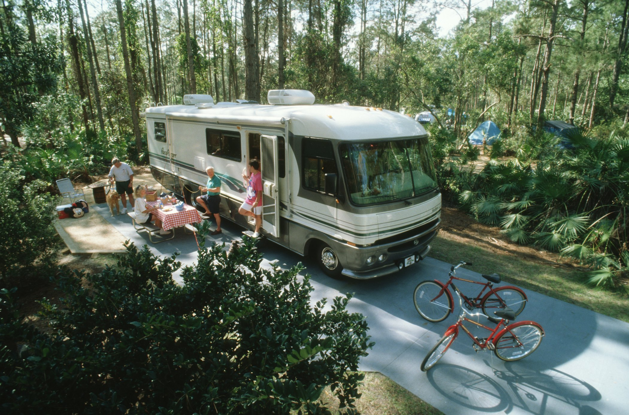 Fort Wilderness Resort And Campground Living In A Grown