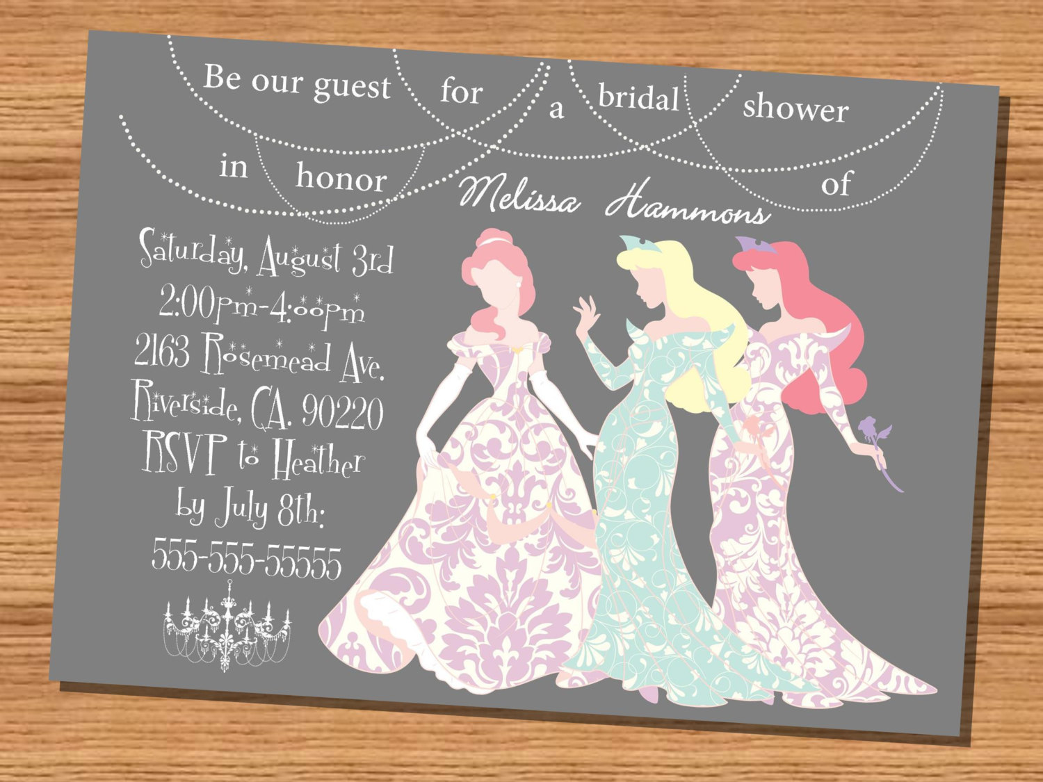 Speaking of Princess theme?.these invites would go along with it ...