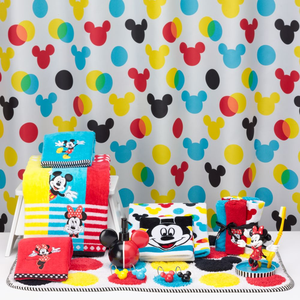 Disney Decor Living In A Grown Up World - Mickey mouse bathroom accessories