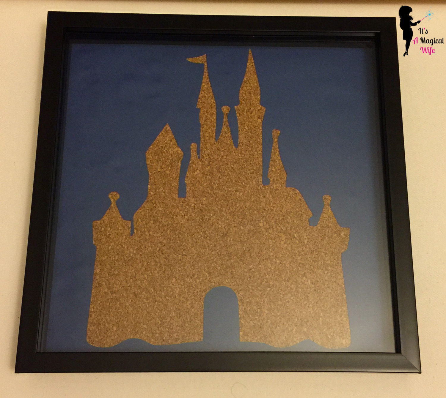 Disney pin display living in a grown up world for Cork board pin display